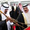 HM King Hamad presents